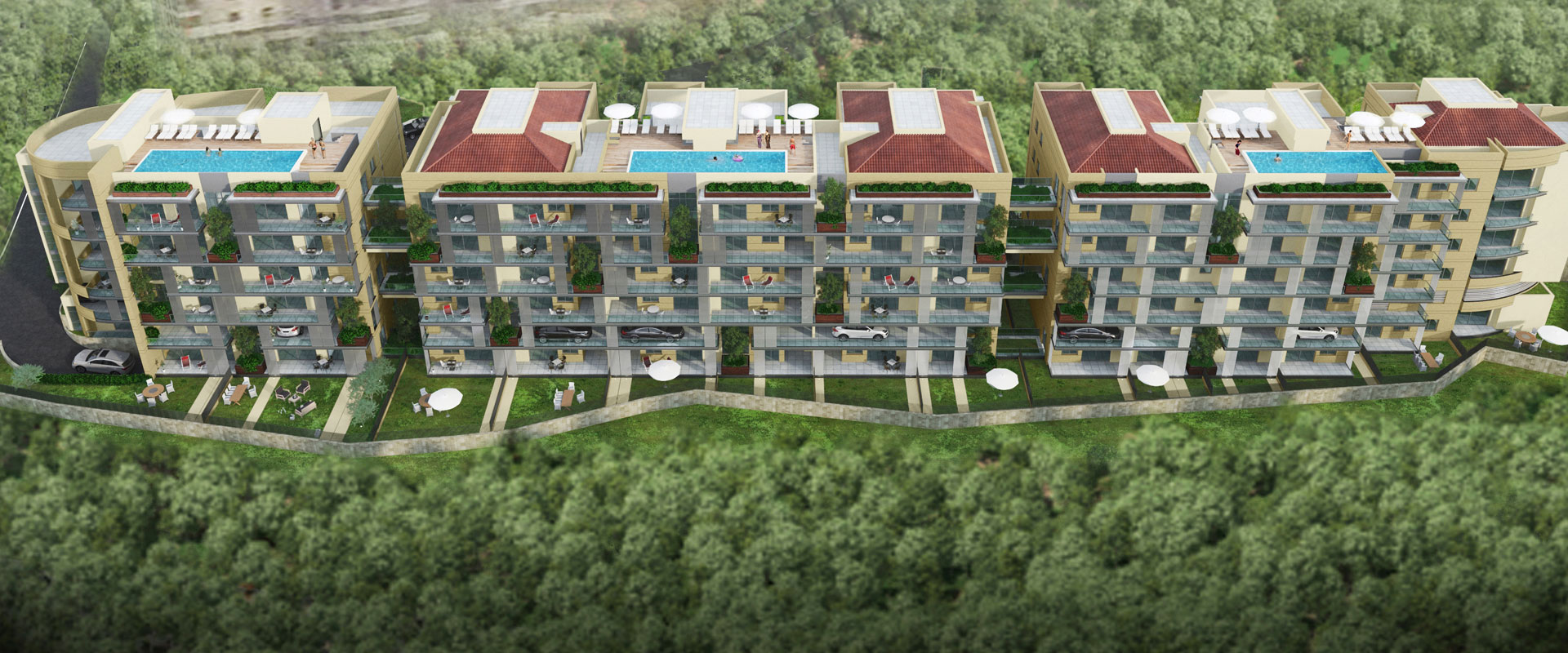 Projects | Les Jardins de Hazmieh | Platinum holding